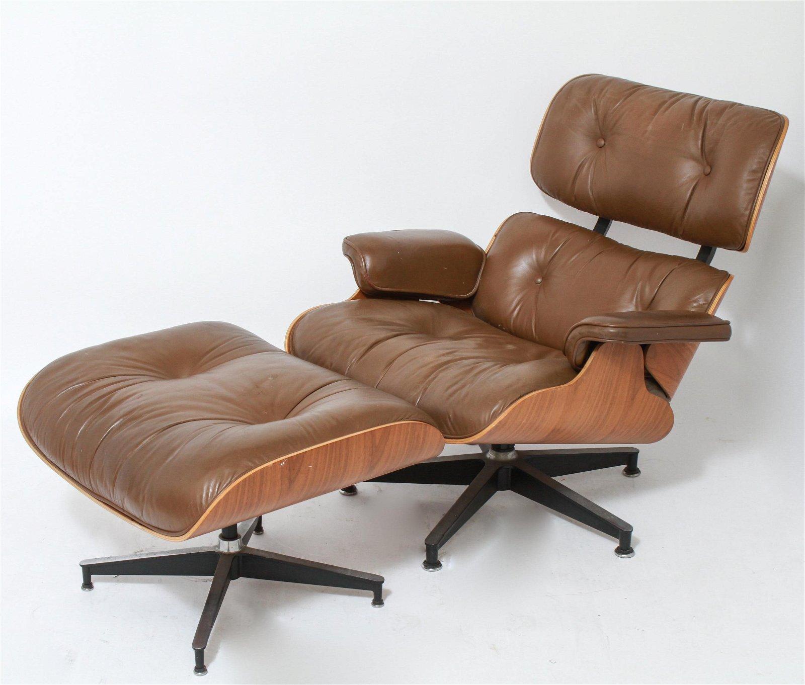 Eames Herman Miller Lounge Chair & Ottoman