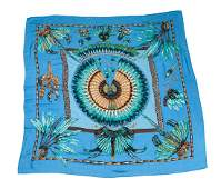 Hermes Brazil Cashmere Silk Shawl