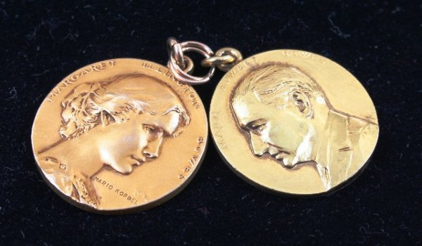 3001: Gold Medals By Cartier for Major Edward Bowes