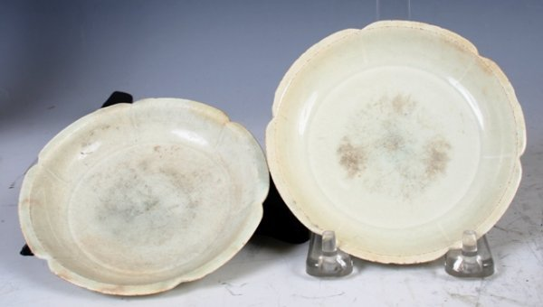 3002: Pair Of Chinese Dishes Song Dynasty