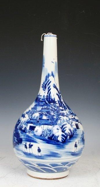 3023: Chinese 19th c. Porcelain Vase