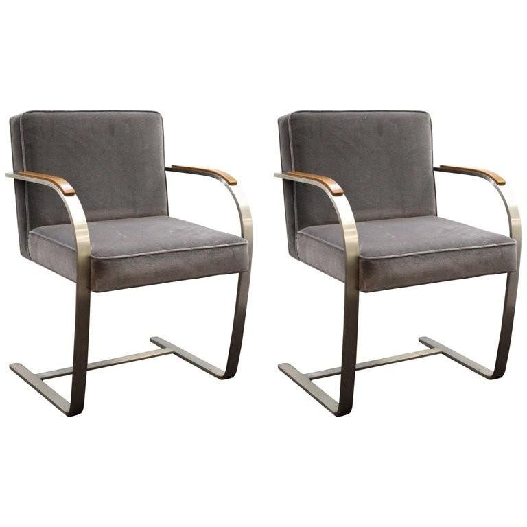 "Mies van der Rohe for Knoll ""Brno"" Chairs"