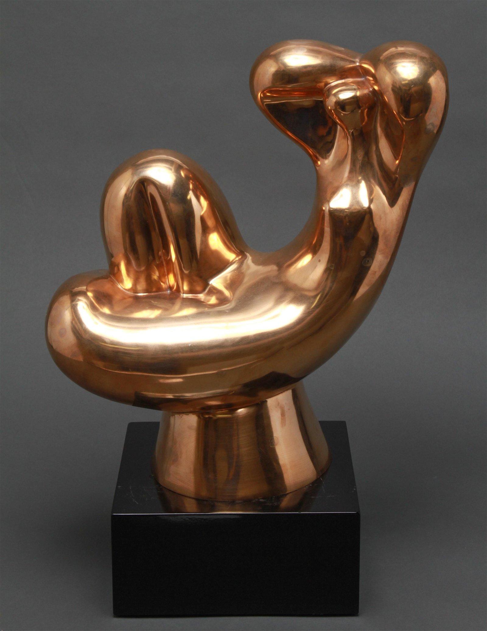 "Daniel Capri ""Modern Woman"" Abstract Bronze"