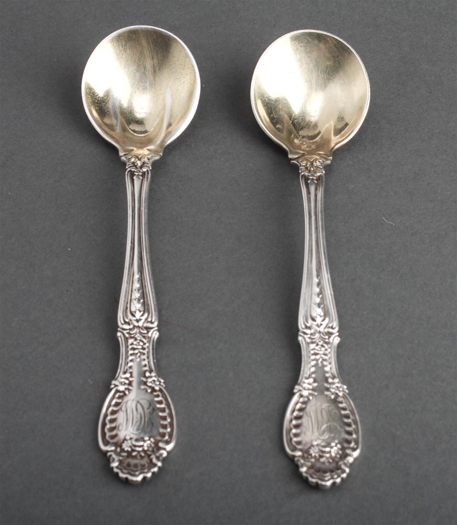 Tiffany & Co. Richelieu Cream Soup Spoons, 2