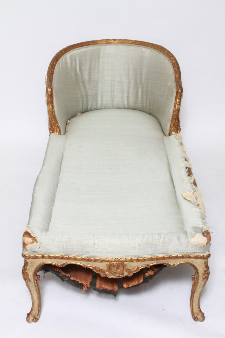 French Louis XV Manner Chaise Lounge