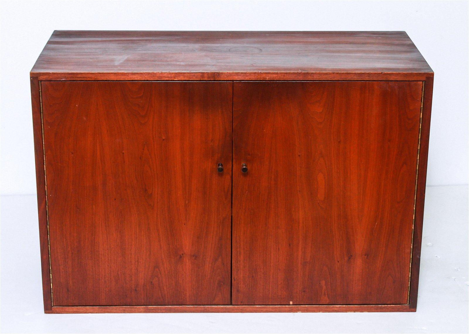 Paul McCobb Style Mid-Century Wood Cabinet