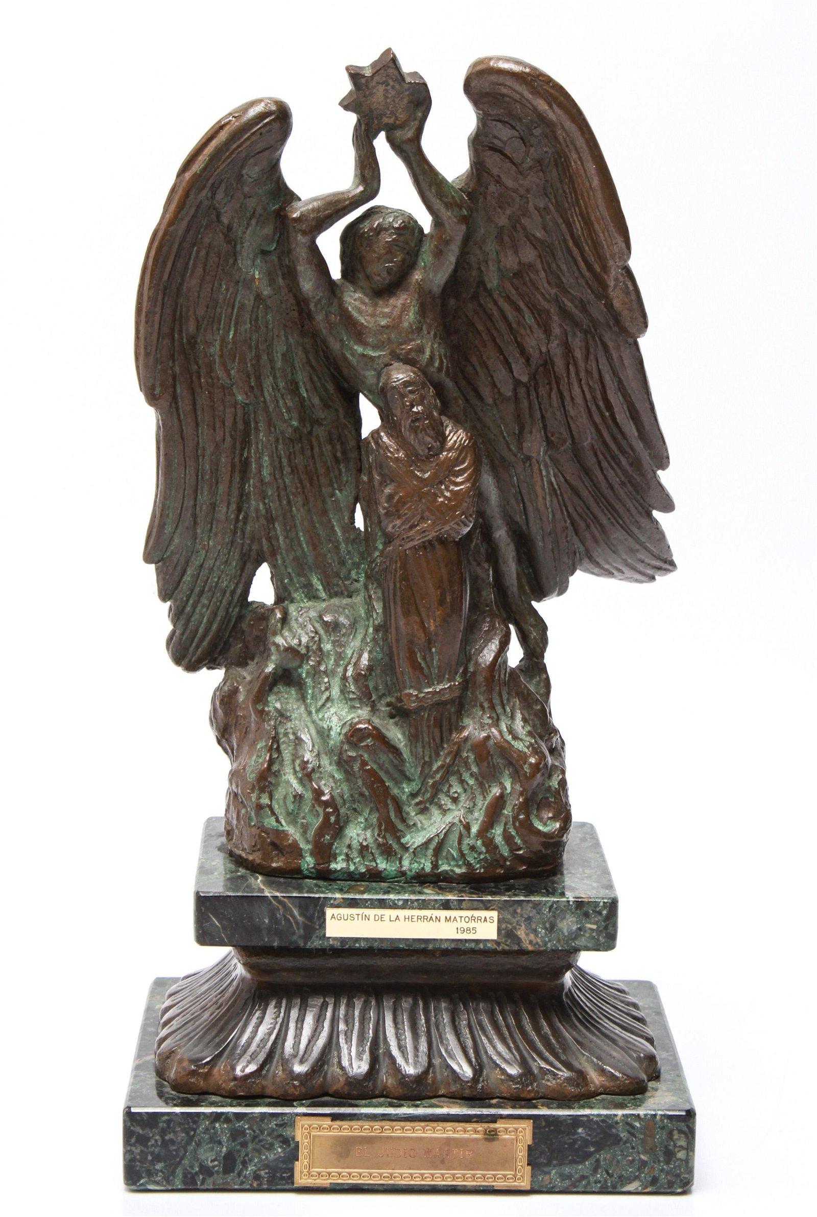 Judaica Agustin de la Herran Matorras Bronze