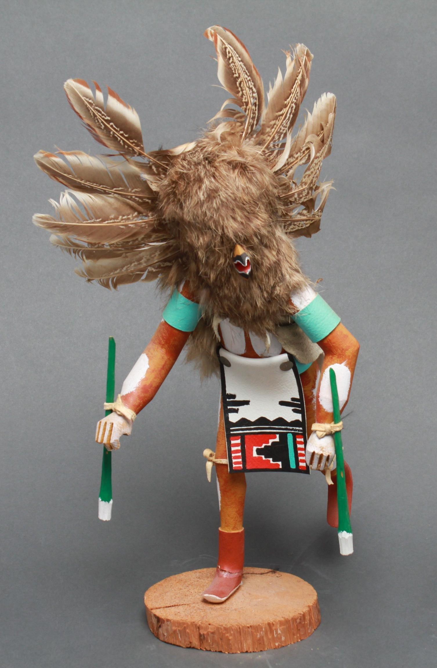 Owl Ryflarg Native American Kachina Doll