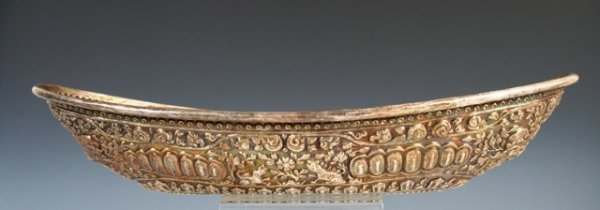 14: Southeast Asian Long Bowl with Reliefs