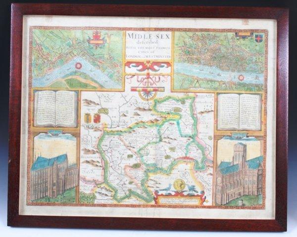 20: Original John Speed  Map 1610 of London