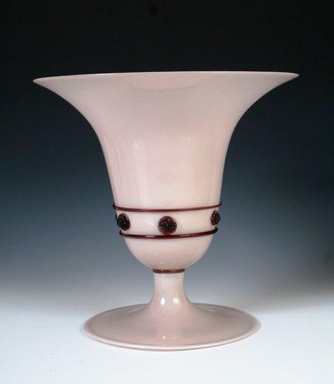 22: Parisian Art Glass Vase from Pauly & Co.
