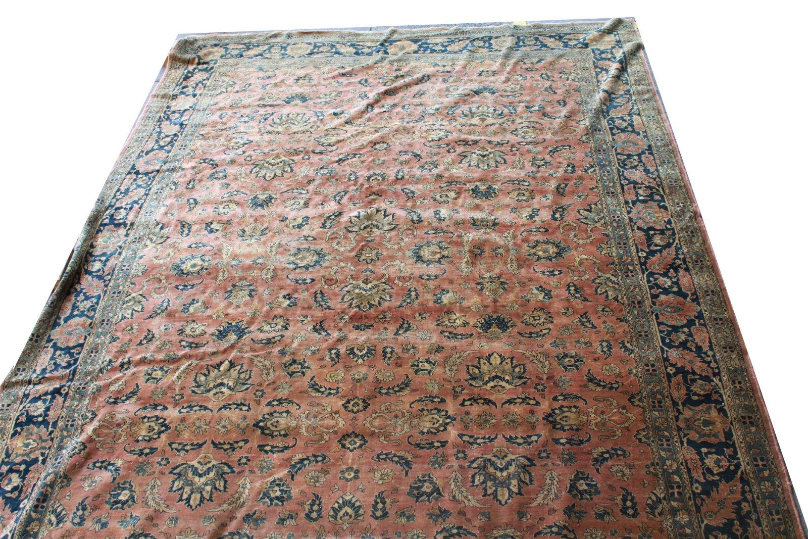"Persian Palace Size Carpet 11' 6"" x 17' 10"""