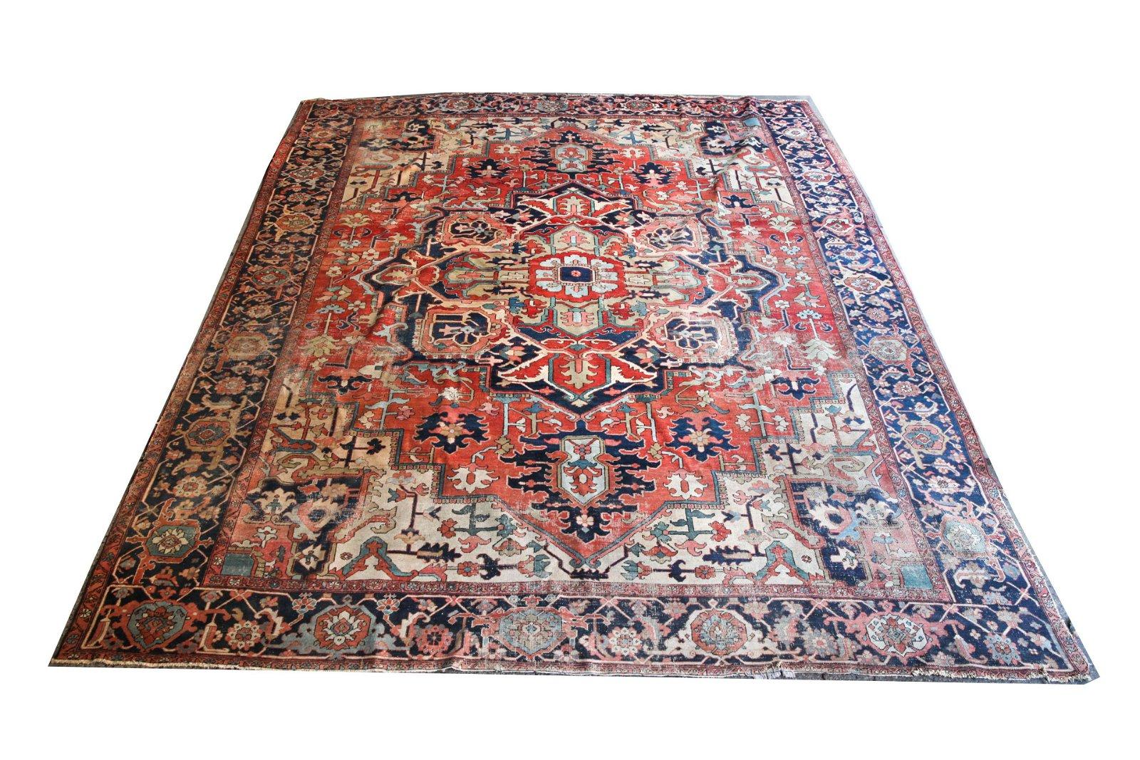 "Persian Carpet 13' 2"" x 10' 7"""