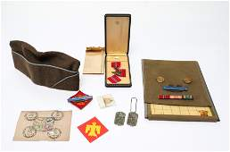 WWII Military Ephemera incl Bronze Star Medal