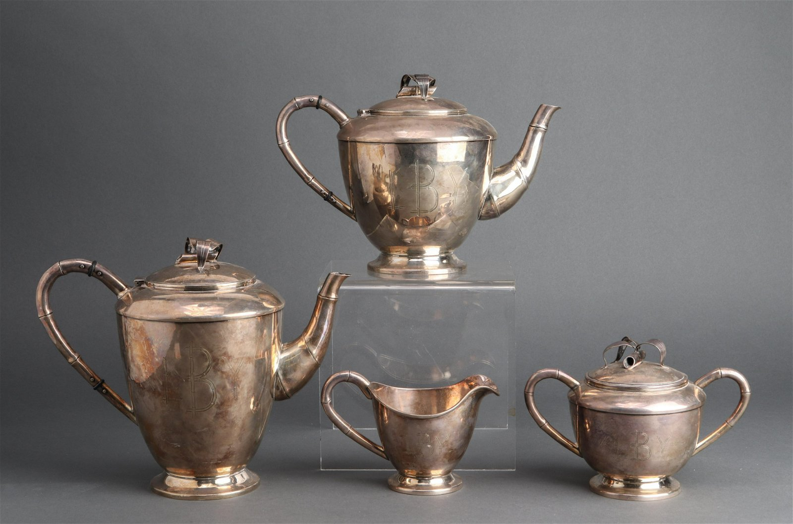 Sterling Silver Tea & Coffee Service, 4 pcs