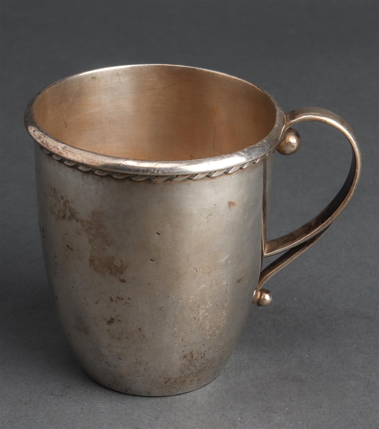 Georg Jensen Danish Silver Handled Cup