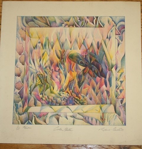 3: Robert Culter Color Signed Lithograph 1973 1/15