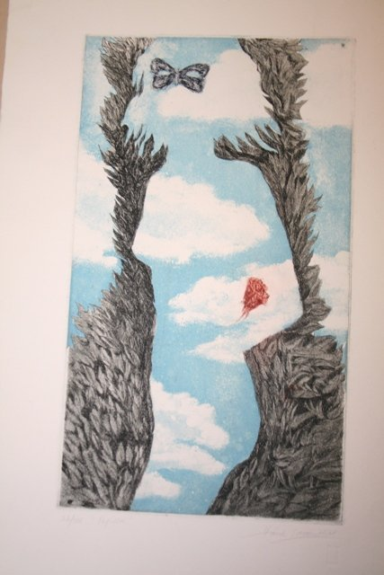 5: Hank Laventhal Signed Etching 26/100