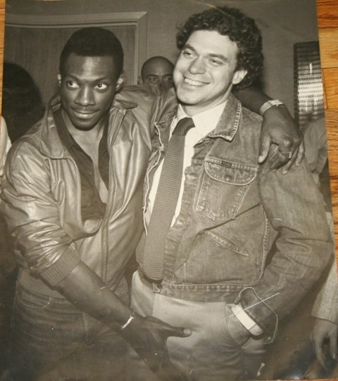 10: Large Photo of Eddie Murphy & Joe Piscopo SNL