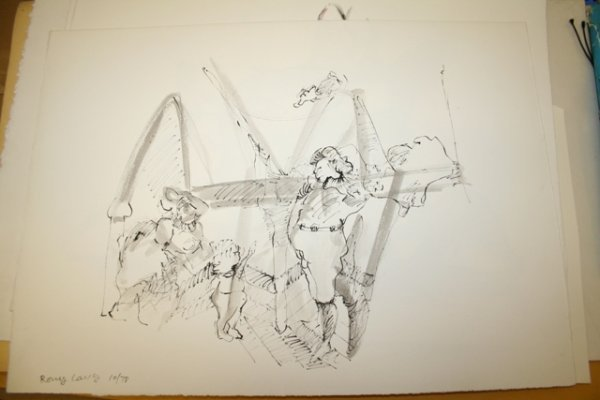 11: Rony Lang Print Signed Numbered 10/78