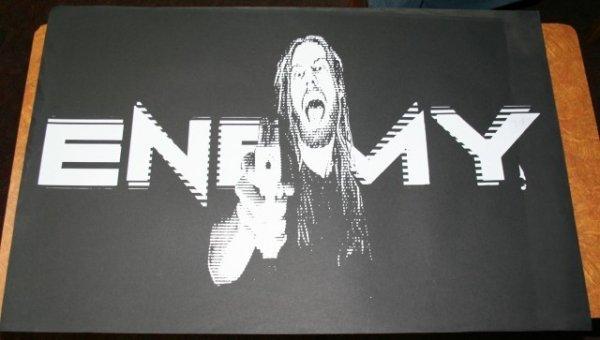 """138: Andrew Dieckman 1 of 4 """"Enemy"""" Print"""