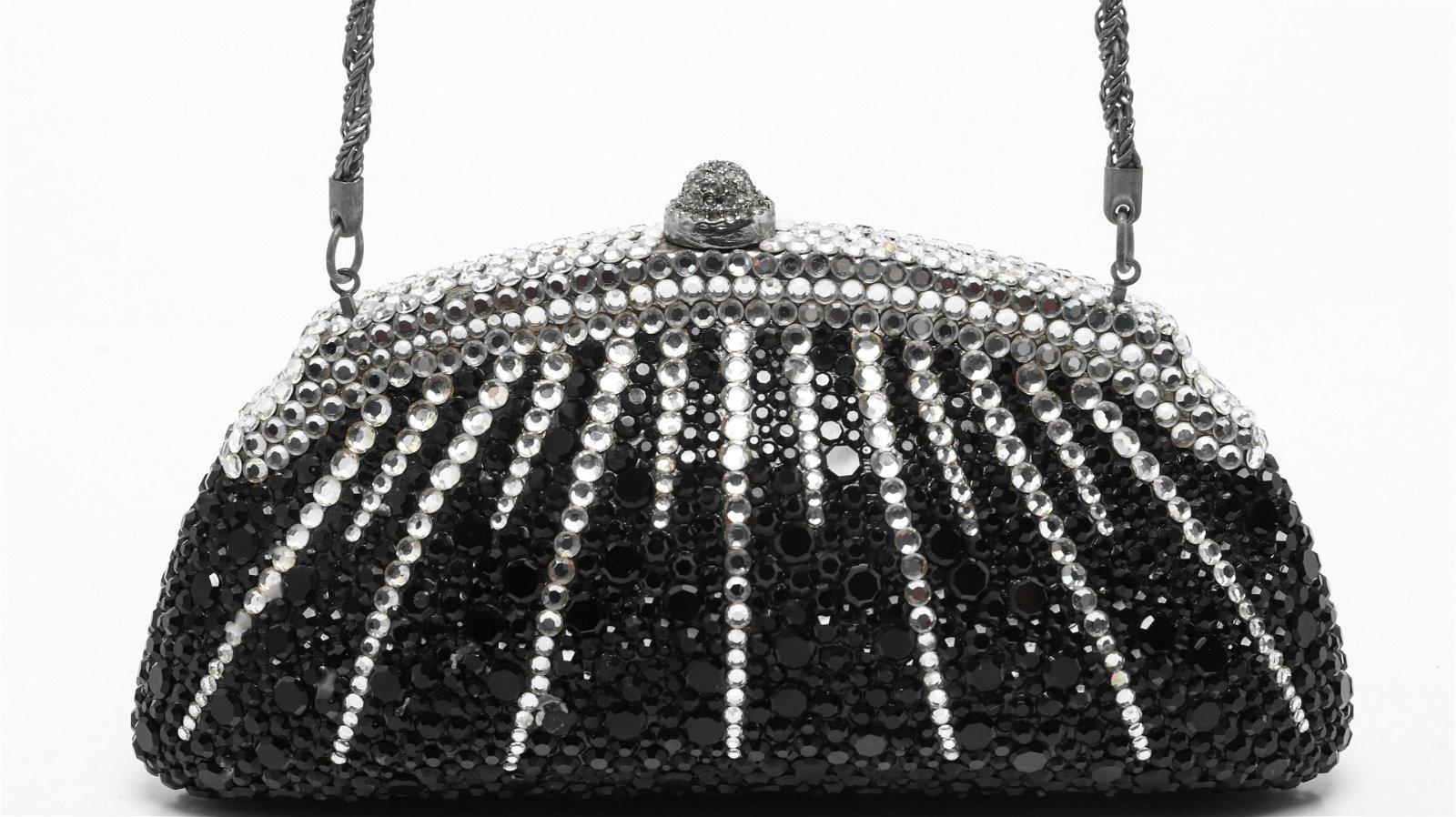Givenchy Vintage Rhinestone Minaudiere Evening Bag