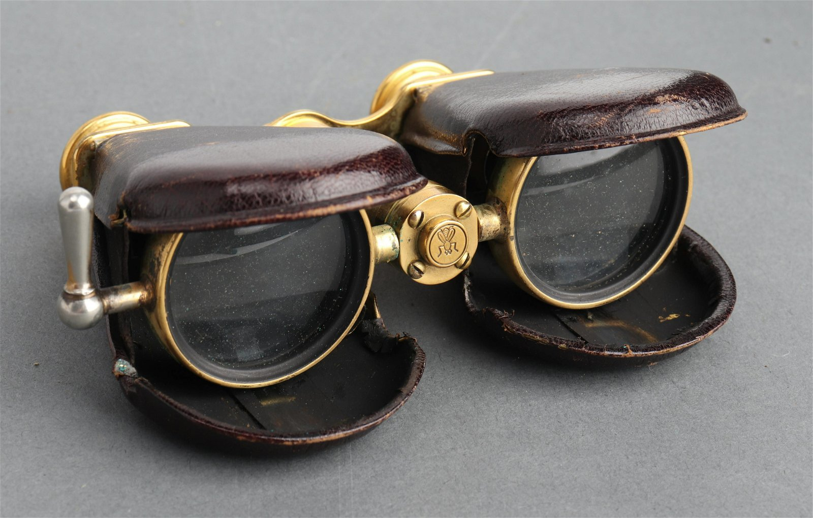 French Lemaire Collapsible Opera Glasses