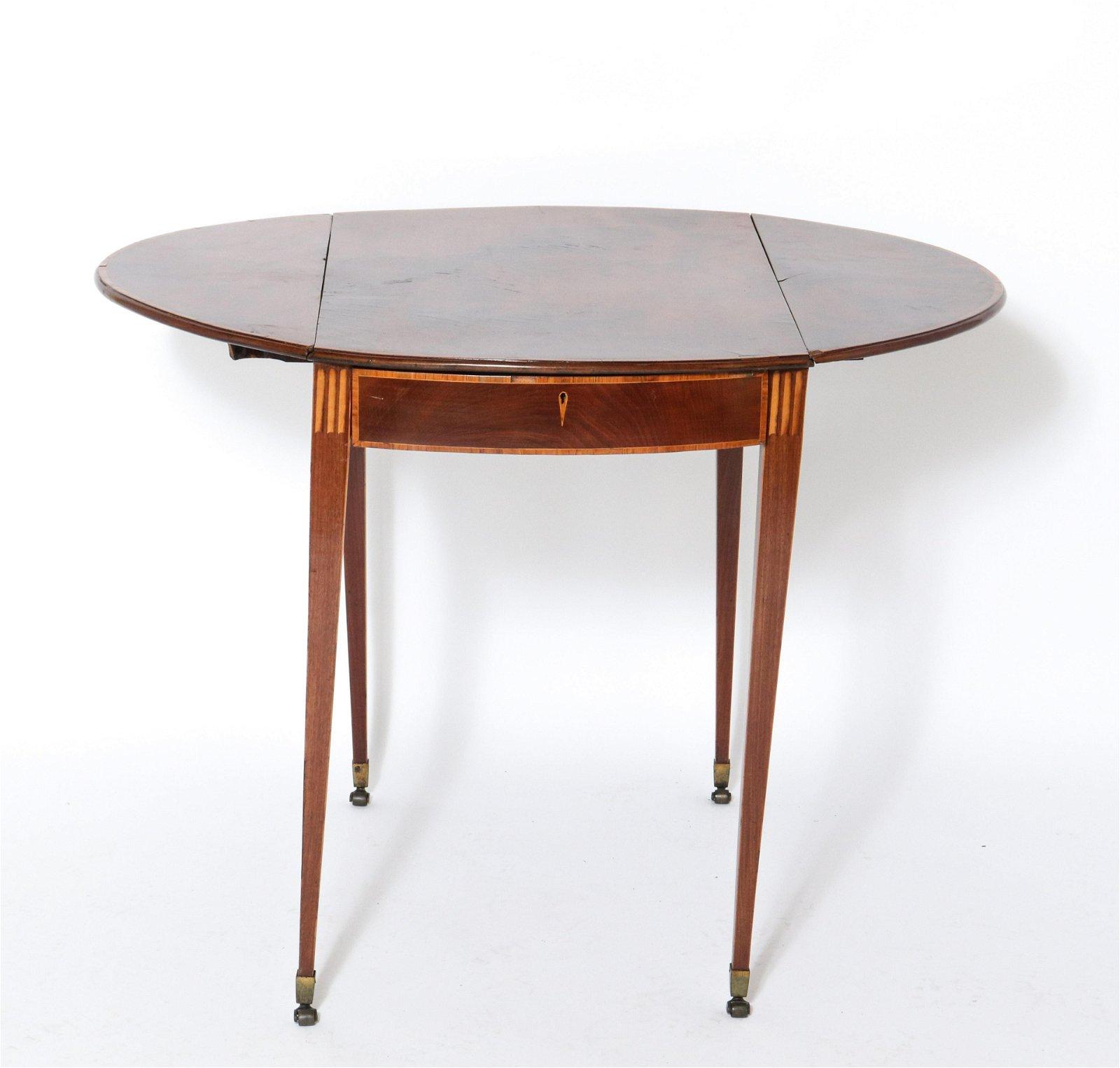 Antique Drop Leaf Pembroke Table
