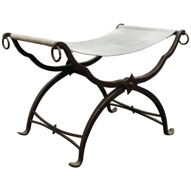 Morgan Colt Attr. Arts & Crafts Folding Bench