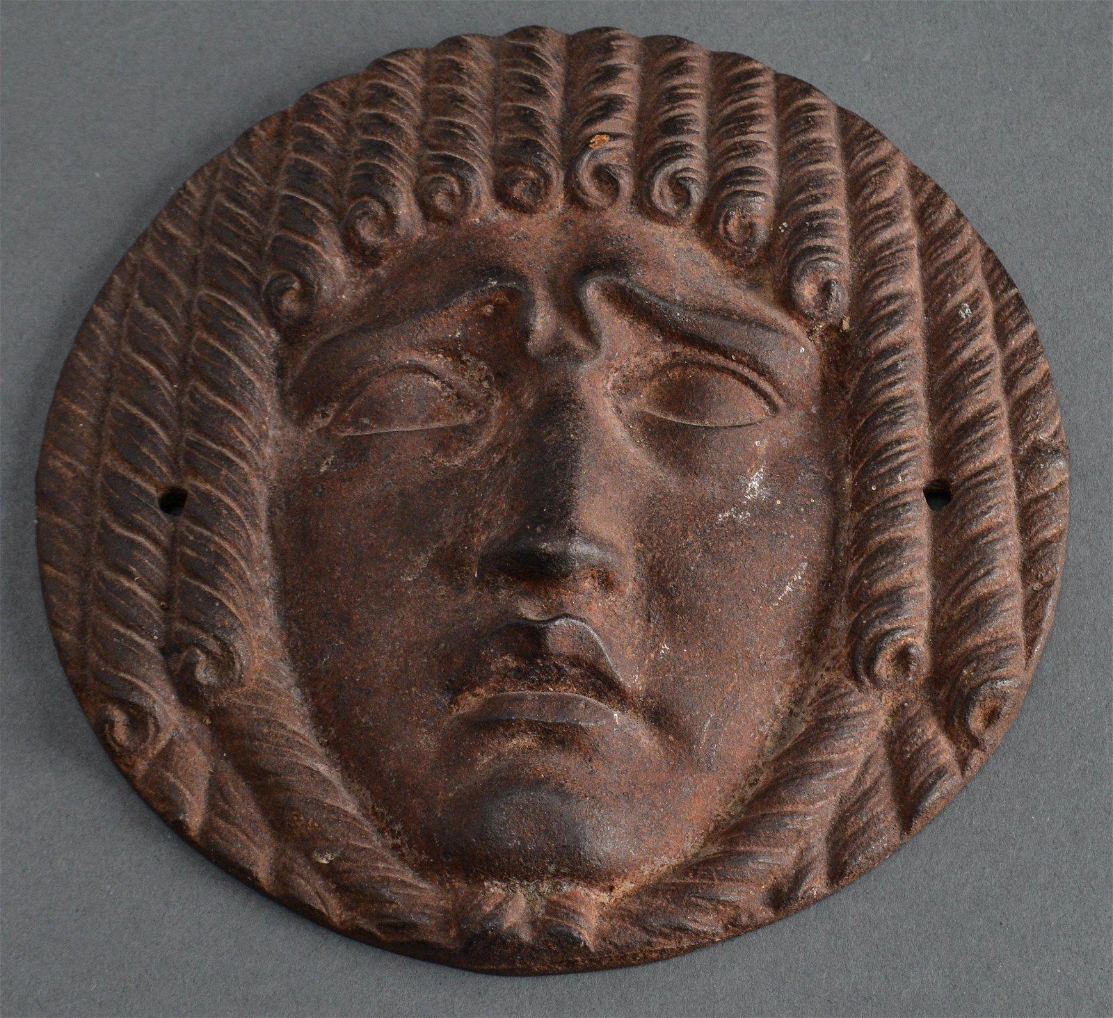 Classical Head Round Cast Iron Mount