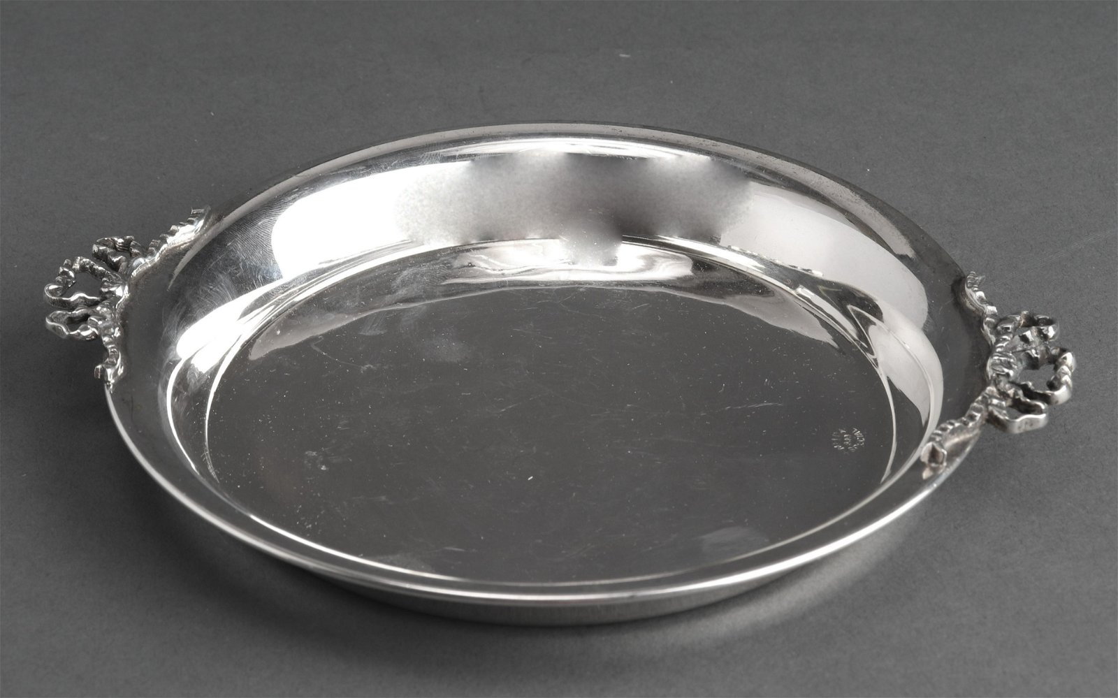 Melda Turkish 900 Silver Two Handle Tray