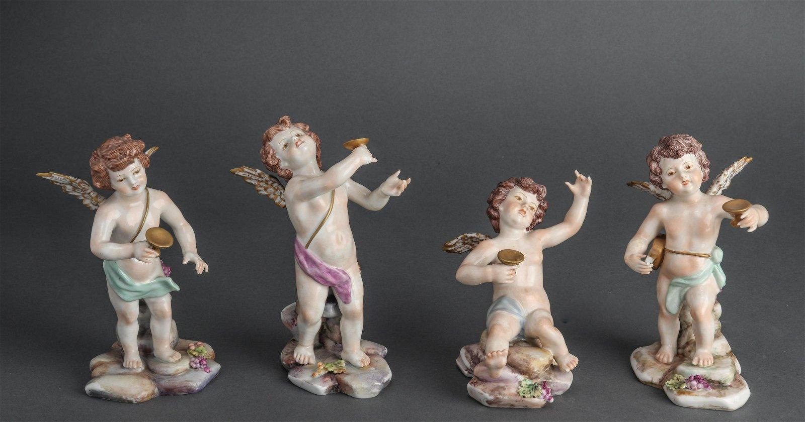 Italian Porcelain Figural Sculptures, 4