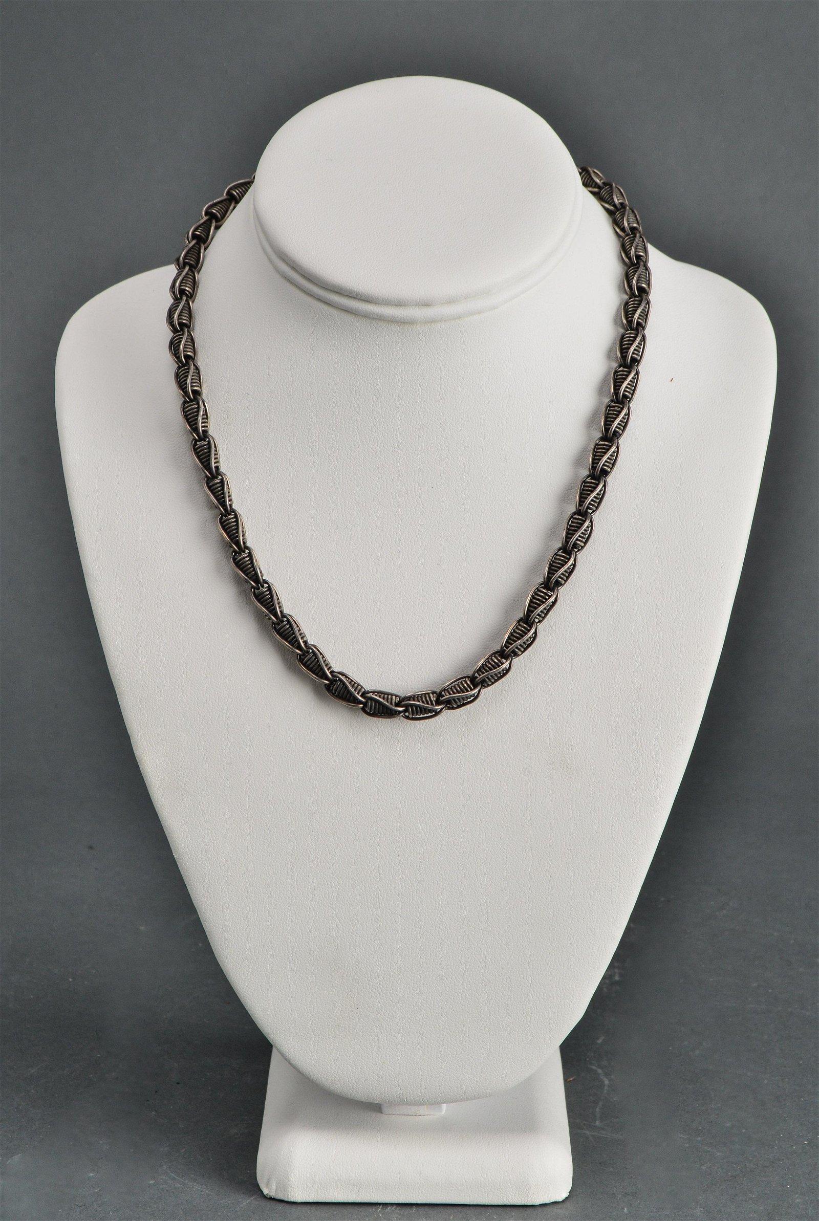 Sterling Silver Modern Necklace