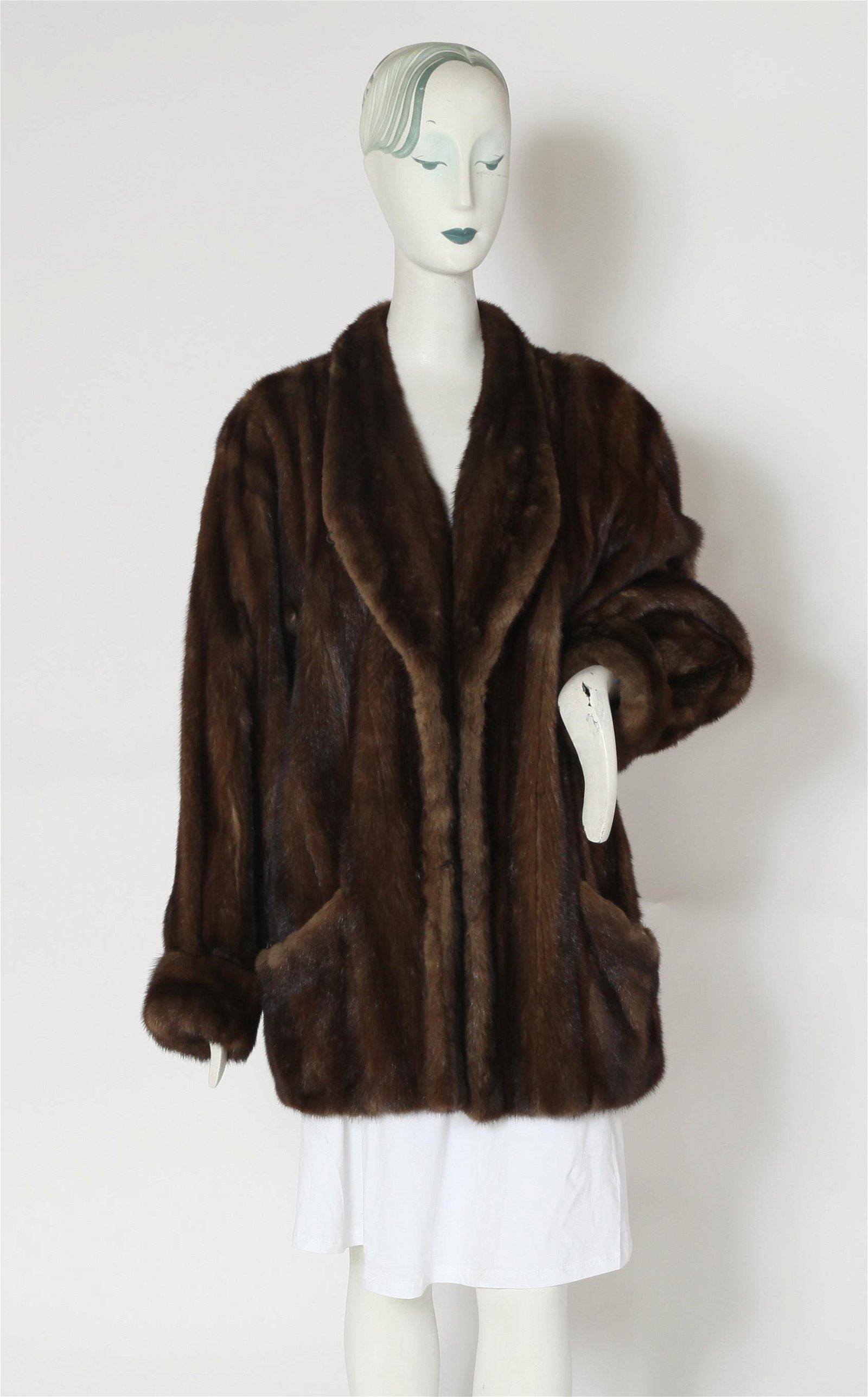 Dennis Basso Couture Mink Fur Coat