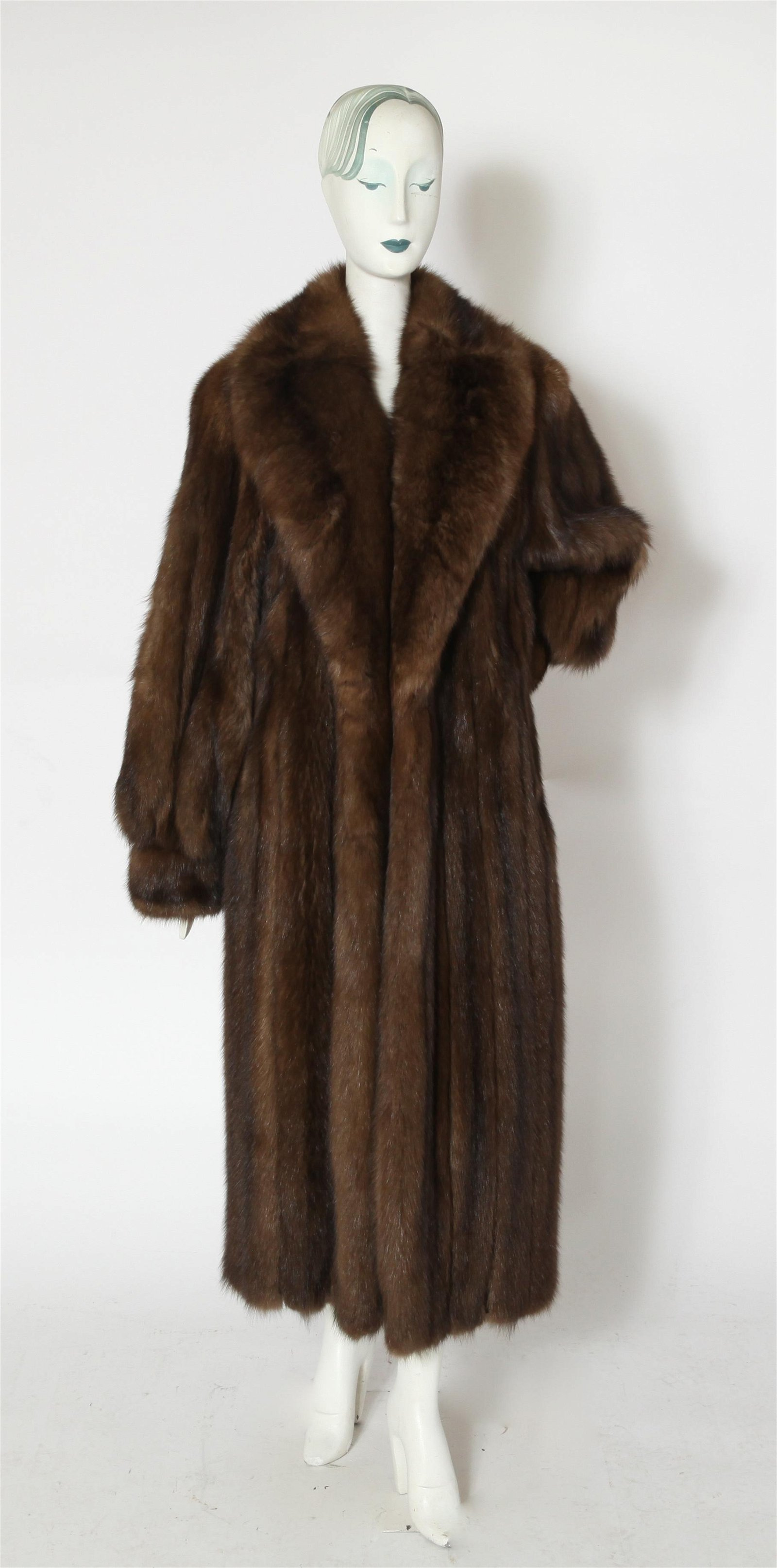 Dennis Basso Couture Fisher Fur Coat