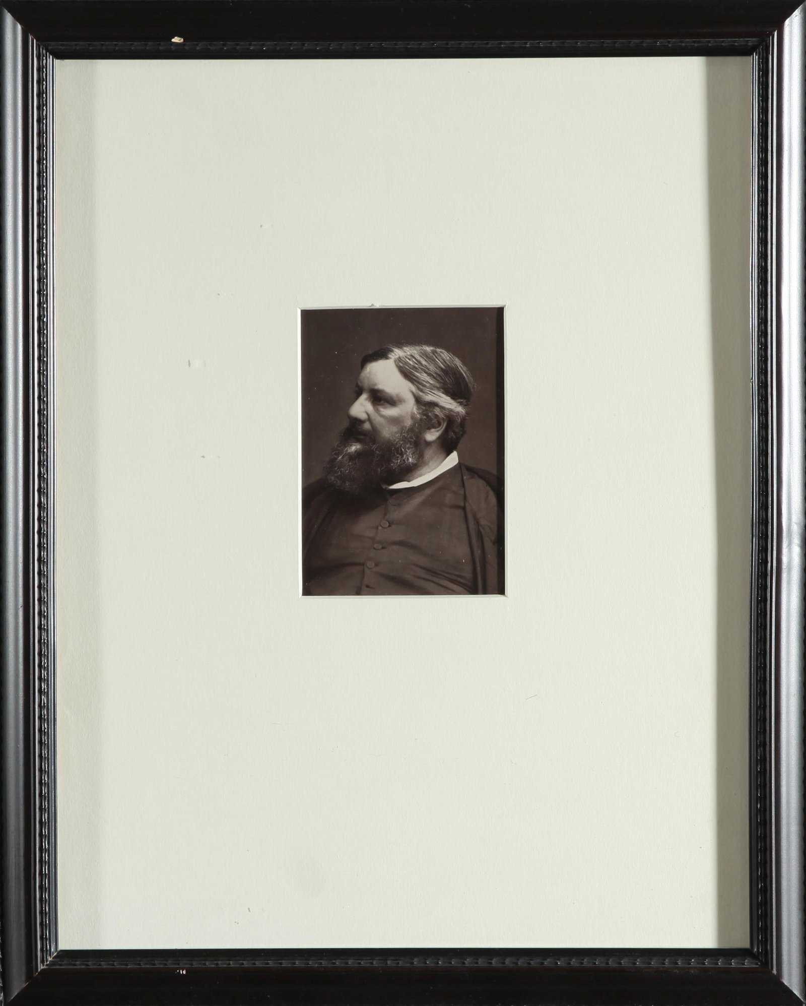 Woodburytype Photograph of Gustave Courbet