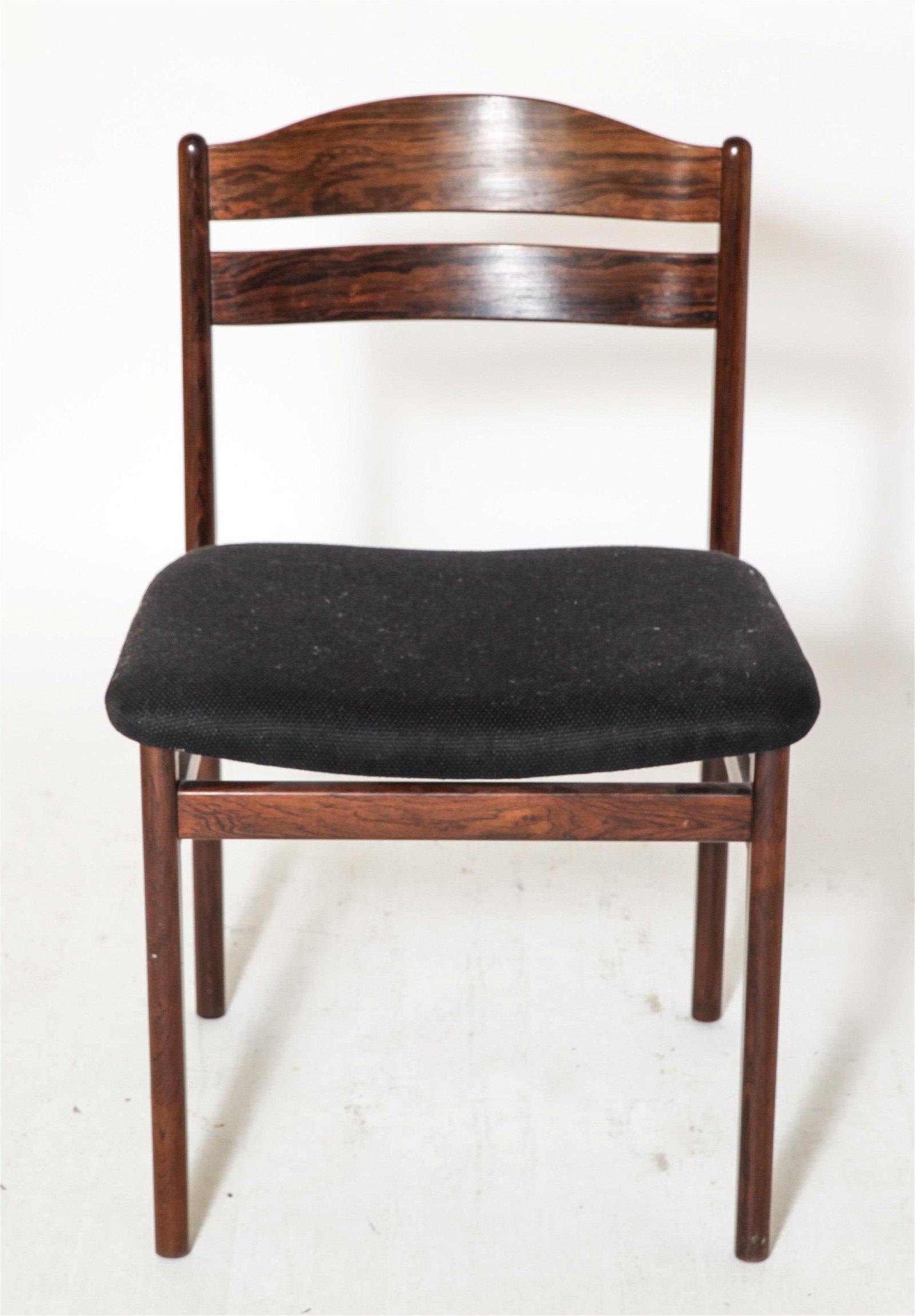 Danish Modern Side Dining Chair