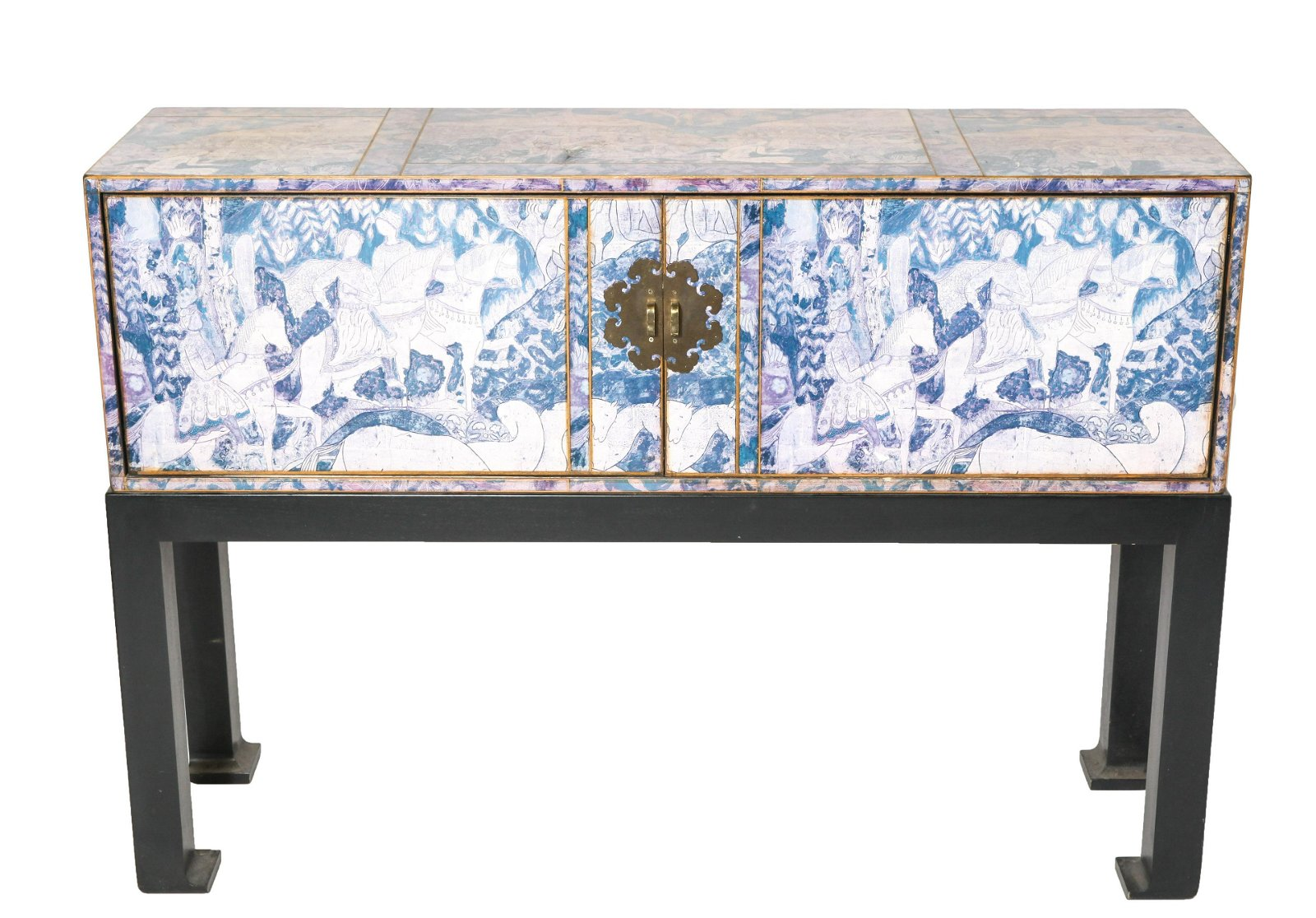 Asian Manner Cabinet On Stand