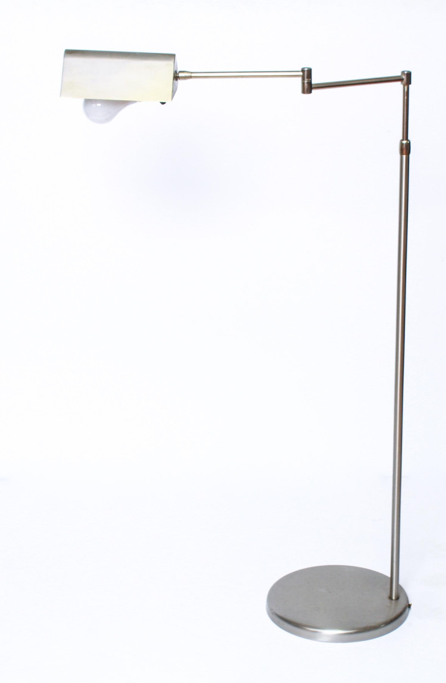 Mid-Century Modern Adjustable Floor Lamp