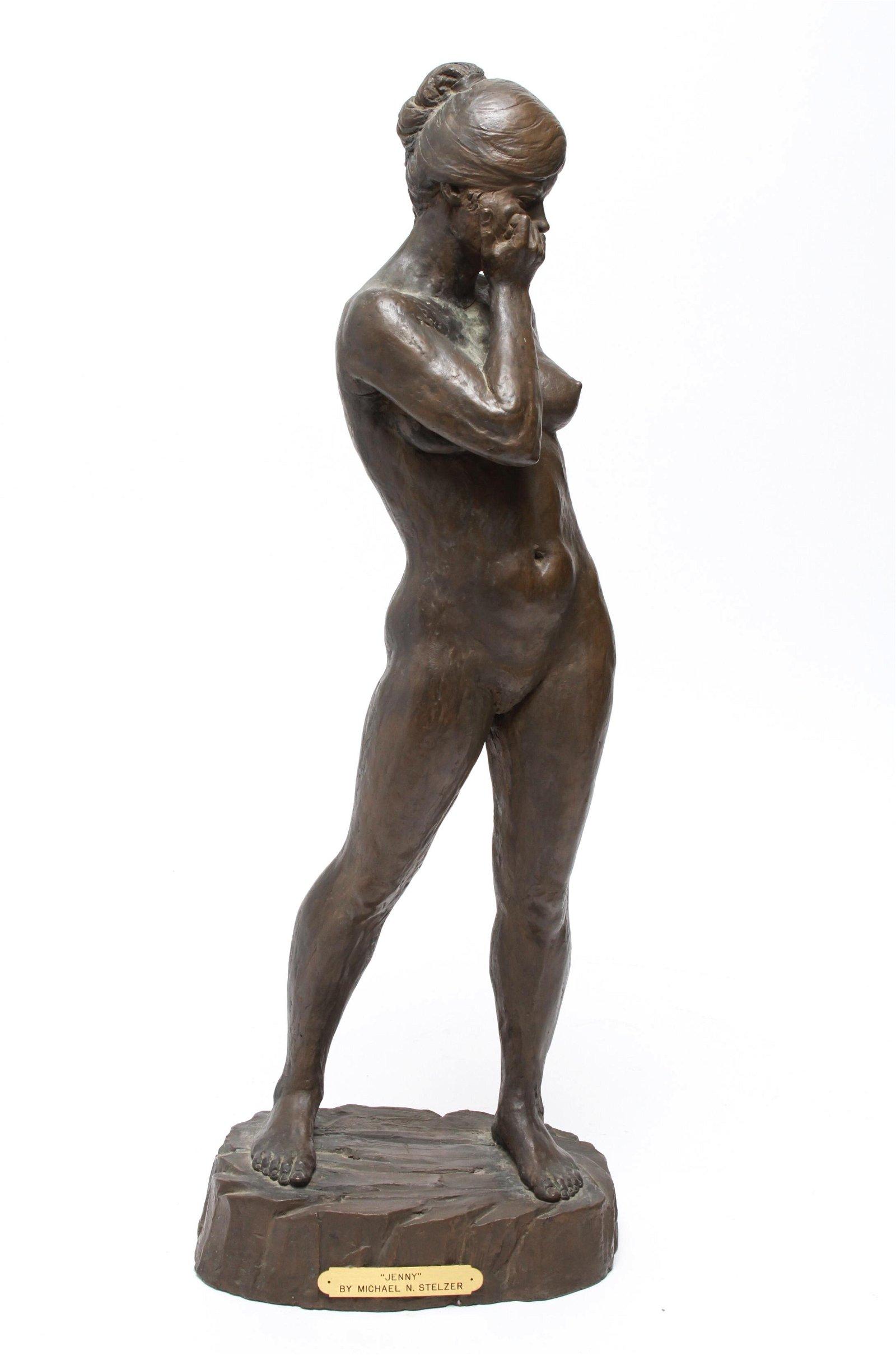 """Michael N. Stelzer """"Jenny"""" Composition Sculpture"""