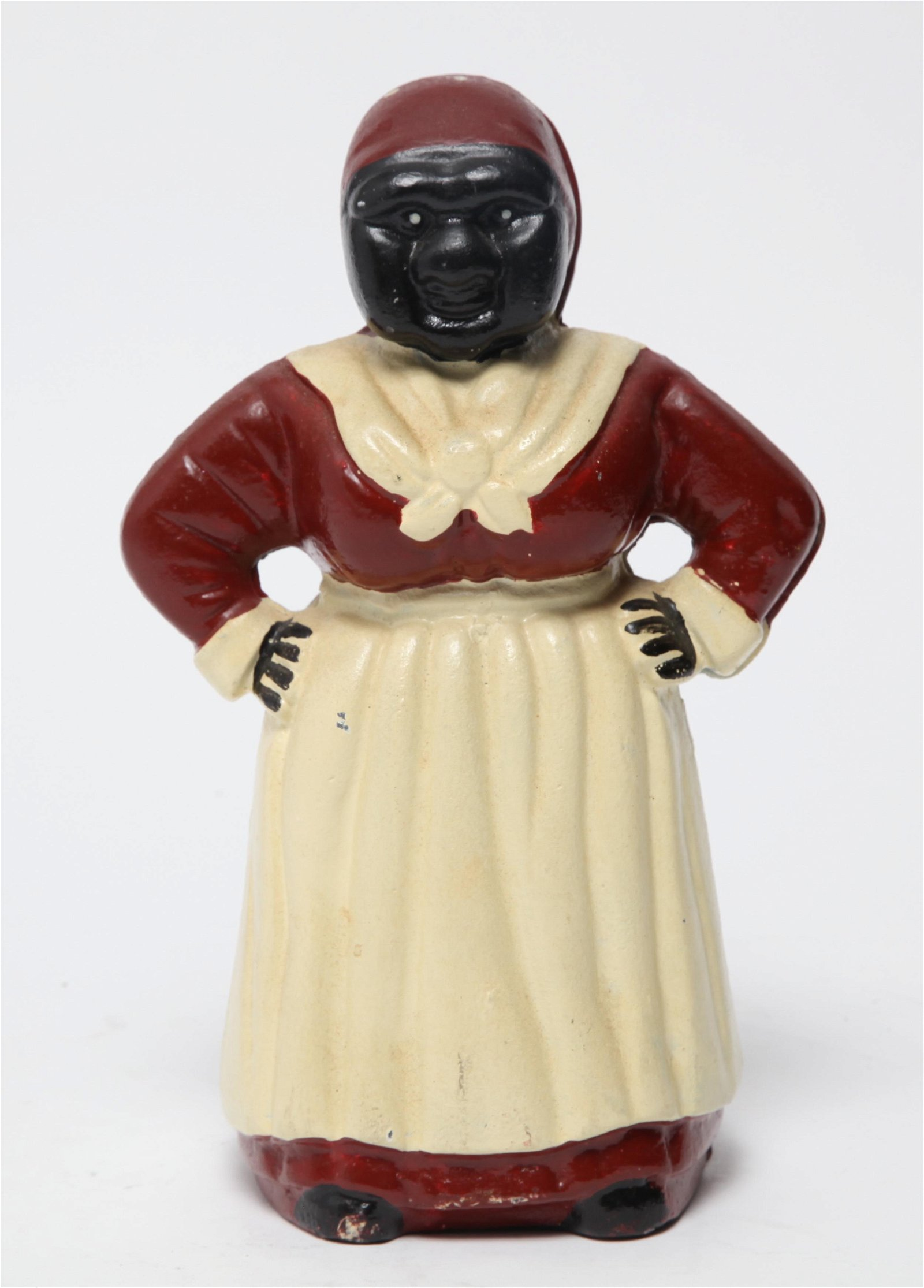 Black Americana Cast Iron Figural Bank