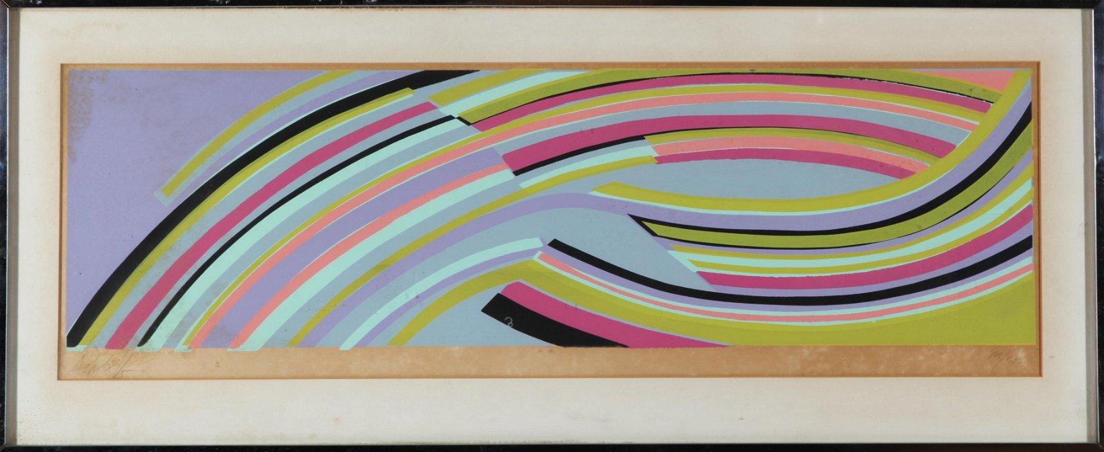 Sandy Sokoloff Untitled Serigraph