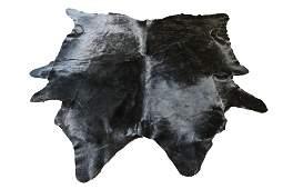 Black Cowhide Rug 9 5 x 8