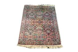 "Persian Floral Rug 4' 4.75"" x 5' 11"""