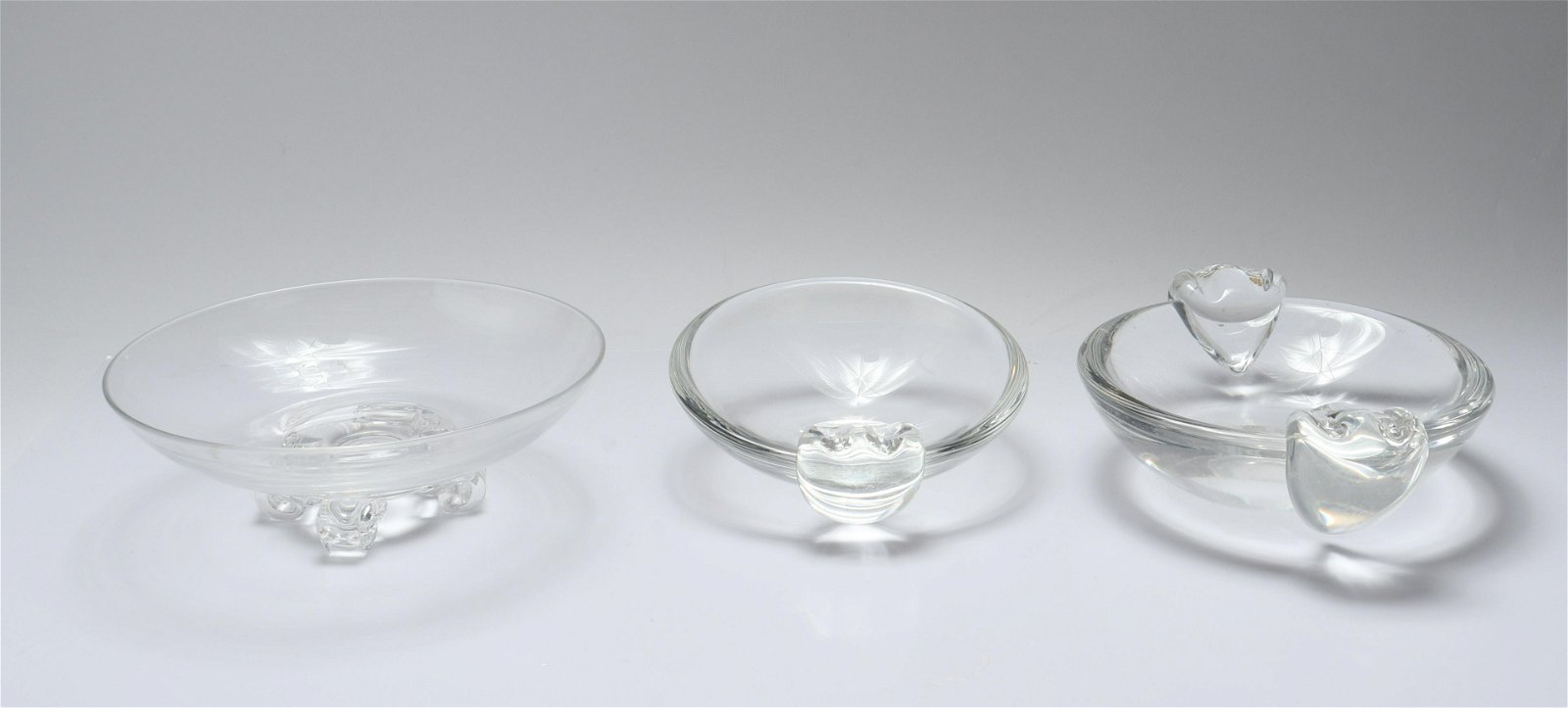 Steuben Collection of Glass Bowls, 3