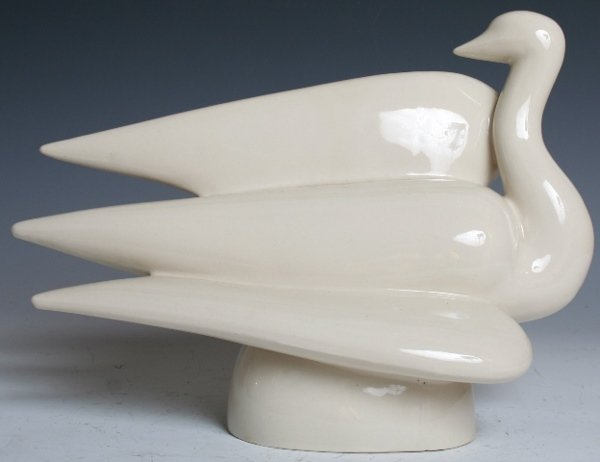 "1014: Wayland Gregory ""Bird in Flight"" Porcelain Sculpt"