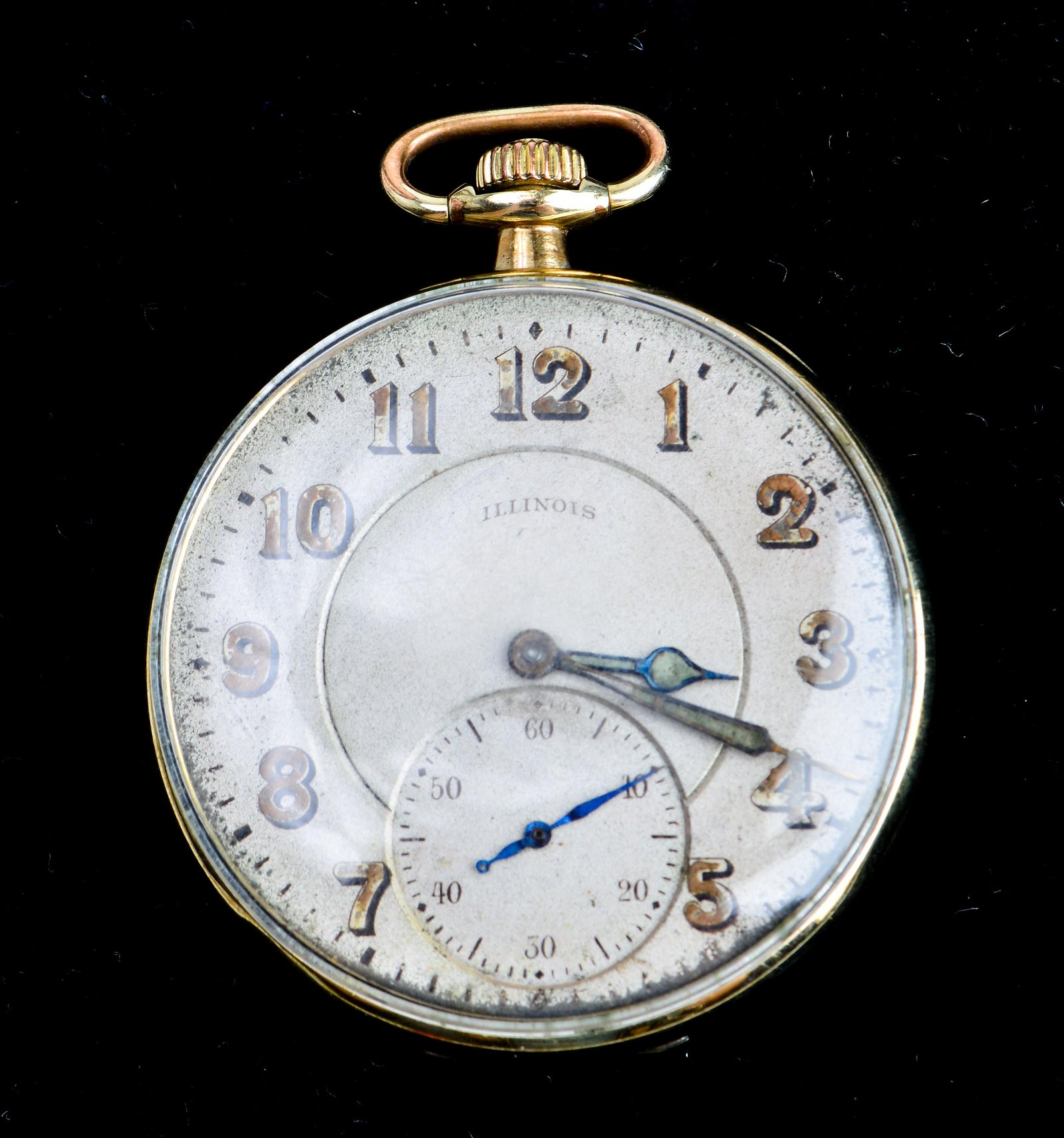 Illinois Springfield Co. Gold-Filled Pocket Watch