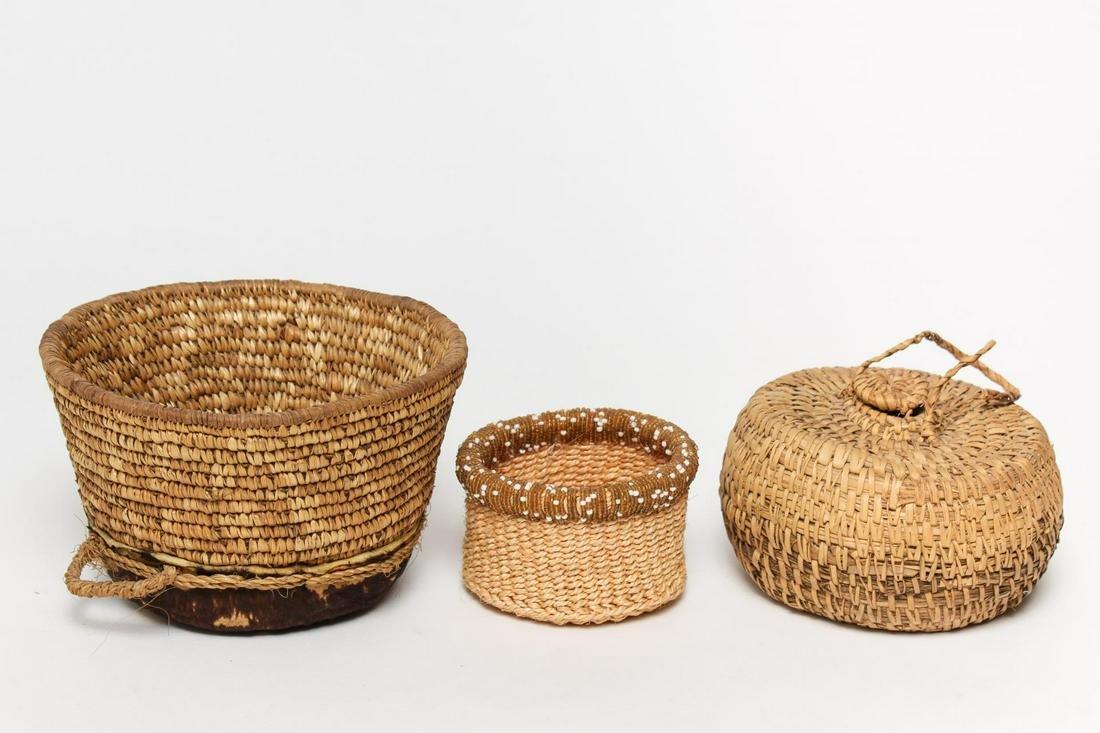 Tribal Woven Baskets, 3