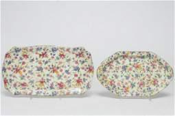 Royal Winton English Porcelain Trays 2