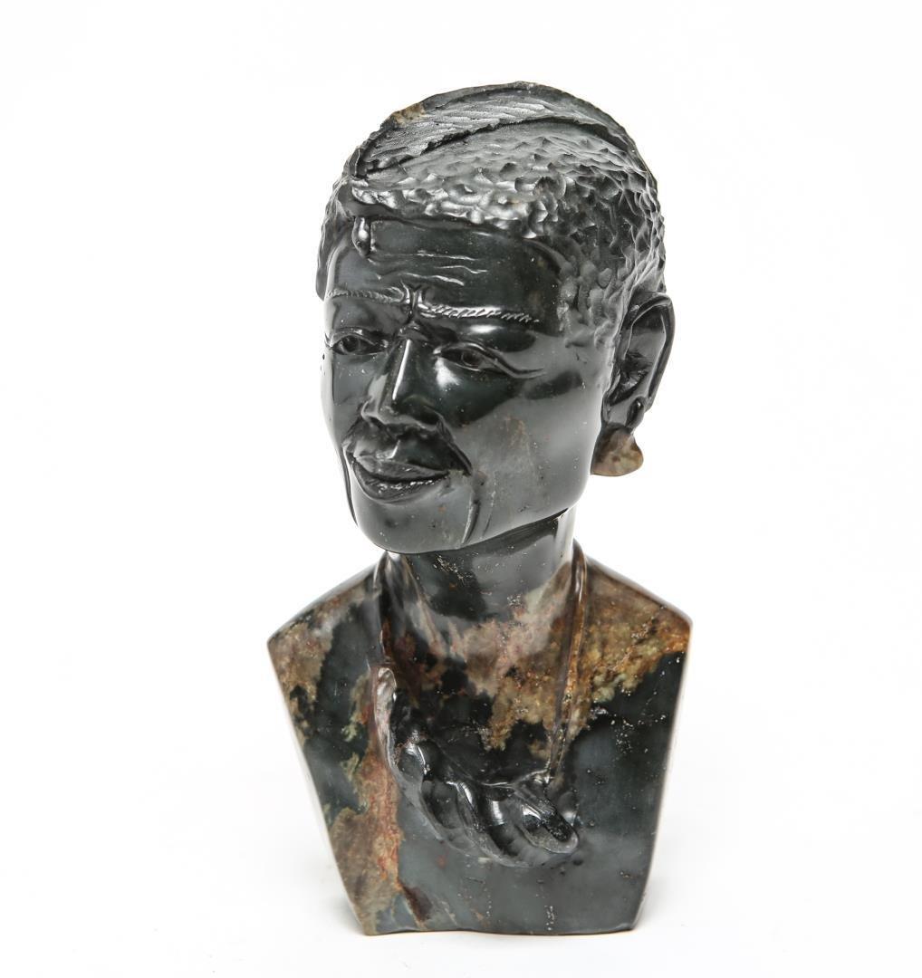 African Zimbabwe Shona Sculpture by P. Mpatila